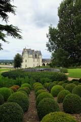 Les jardins du château d'Amboise.