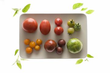 Verschiedene alte Tomatensorten