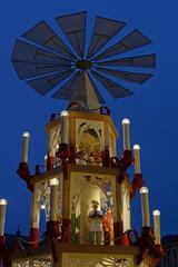 Weihnachtspyramide in Darmstadt