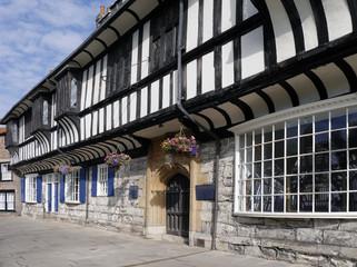 Tudor building in York