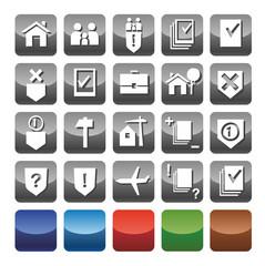Иконки юридические услуги. Icons legal services