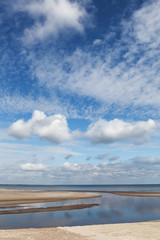 Clouds over Baltic sea.
