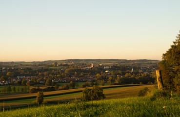 Sonnenaufgang in Bayern
