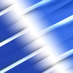 blue layers gift ribbon
