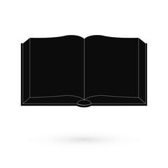Black Book icon. Raster