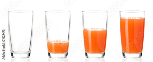 Set of glasses juice - 71429473