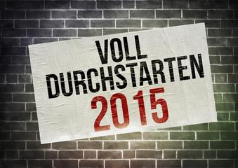 VOLL DURCHSTARTEN 2015