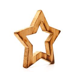Weihnachtsstern aus Holz
