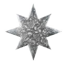 Silberner Weihnachtsstern