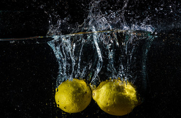 lemons splash
