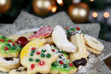 leckere Weihnachtskekse