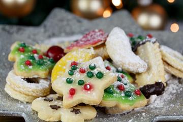 leckerer Weihnachtsteller