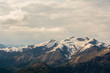 Blick vom Mottarone auf die Alpen Italiens
