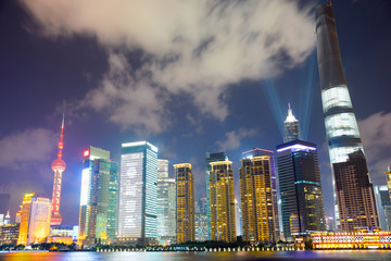 Shangnai bei Nacht