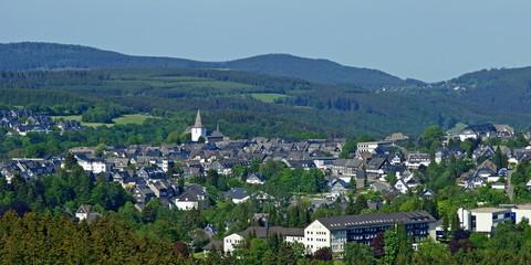 WINTERBERG ( Hochsauerland ) - Stadtpanorama
