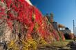 Oslo Akershus Fortress at late fall