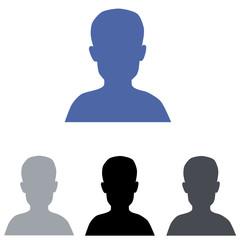 Boy profile icon