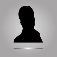 man profile avatar   icon