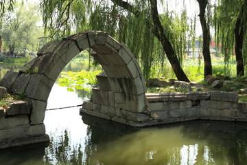 Französische Ruinen vom Sommer Palast Peking