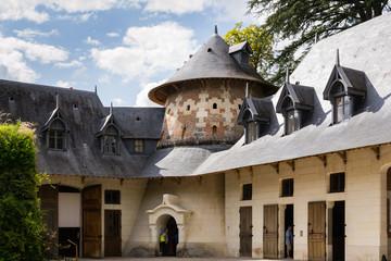 Stable in the castle of Chaumont sur Loire - France