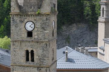 église de haute maurienne à  Lanslebourg,alpes