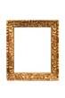 vintage carved golden frame