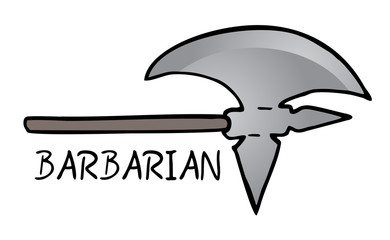 Ax barbarian