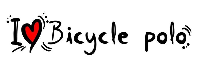 Bicycle polo love