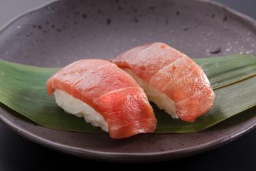 トロのにぎり寿司