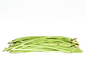 Long Beans on white