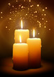 Zdjęcia na płótnie, fototapety, obrazy : Kerzen, Advent, Weihnachten, Kerzenlicht, Schein, drei, Candle