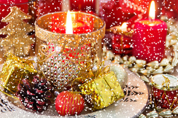 Weihnachtsteller - Dekoration