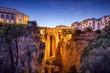Ronda, Spain at Puento Nuevo Bridge