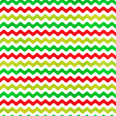 Colorful  Wavy Stripes Background