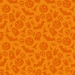 Halloween vector seamless pattern - 71440809