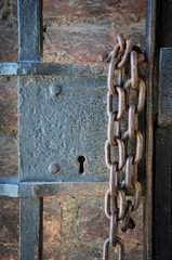 Castle Lock and Chain