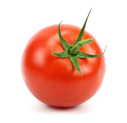 tomato on white