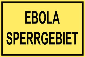 Ebola Sperrgebiet