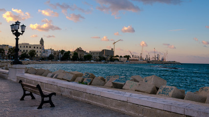 Bari: view of seaside (Apulia, Italy)