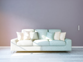 Couch im Wohnzimmer 4x3