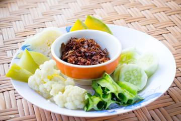 Chili paste Thai style
