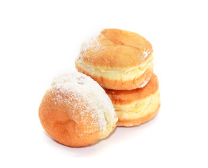 Donuts On White