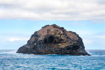Rock of Garachico. Tenerife, Canary Islands, Spain