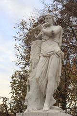 Statue in Schonbrunn Gardens
