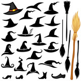 Halloween hat set
