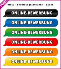 bsb13 BewerbungsSetBubble - Set ONLINE-BEWERBUNG - g1898