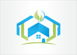 Real Estate Healthy business logo