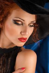 closeup witch