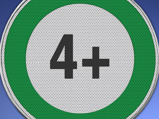 4+ grün