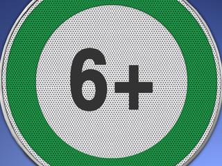 6+ grün